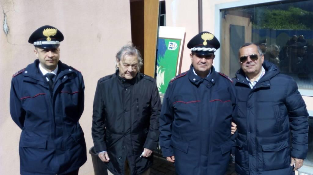 Laigueglia ulivi in memoria di Boris e Giuseppe Giuliano