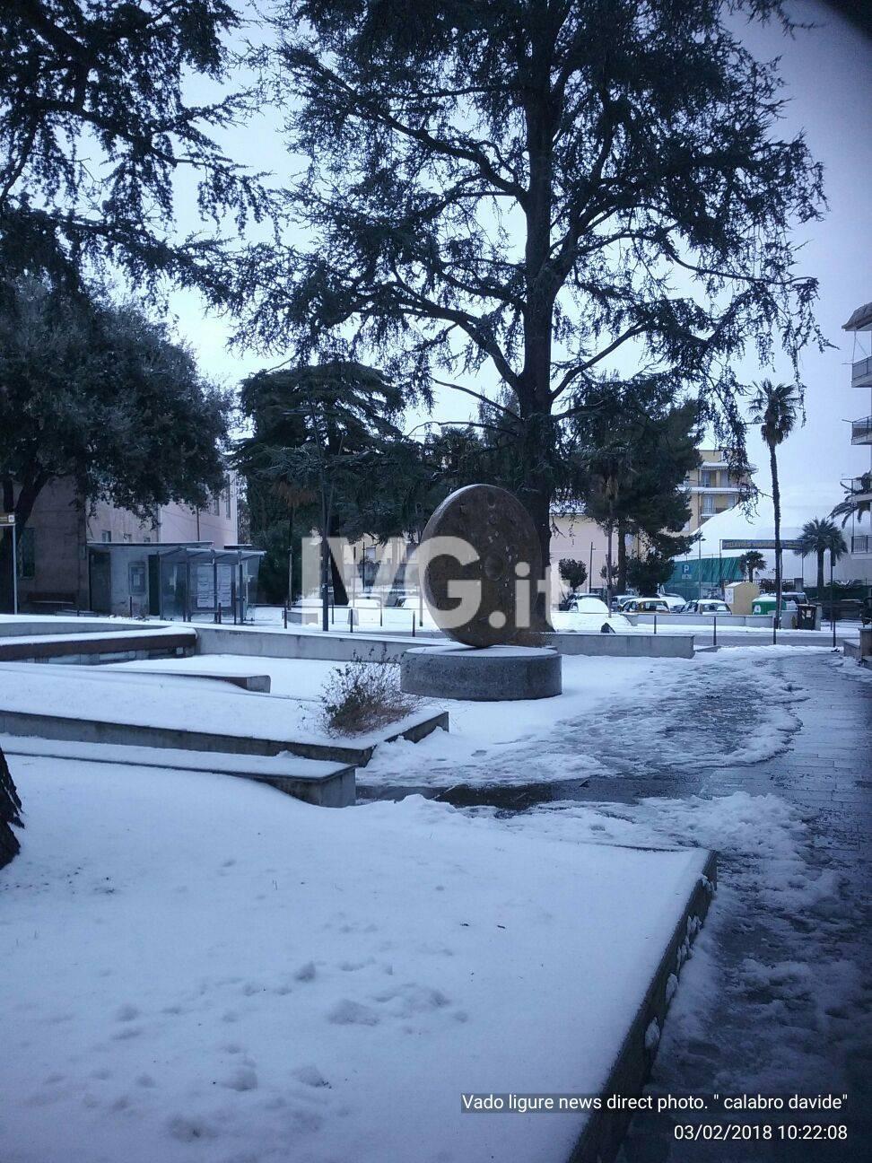 Le immagini della nevicata del 2 marzo