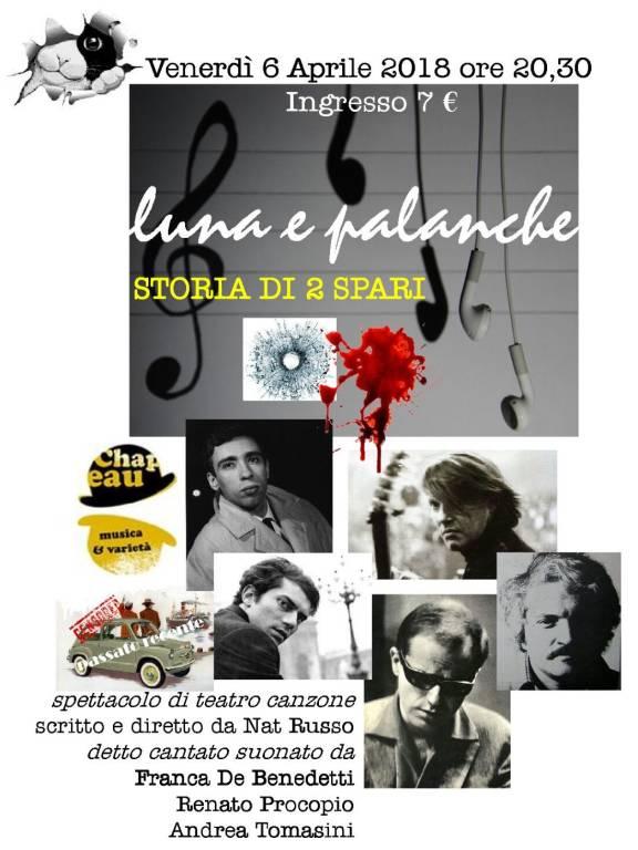 """""""Luna e Palanche"""" Passato Recente cantautori genovesi"""