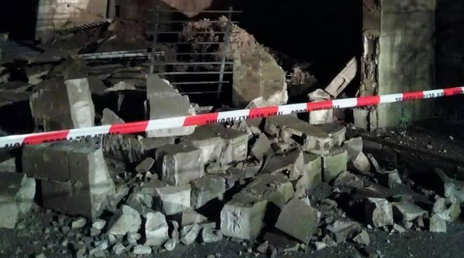 muro crollato