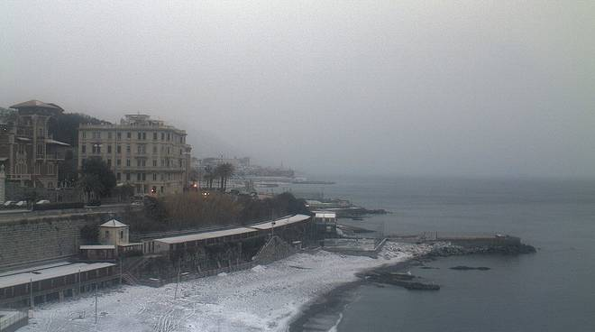 Nevicata 1 marzo Genova e Riviera
