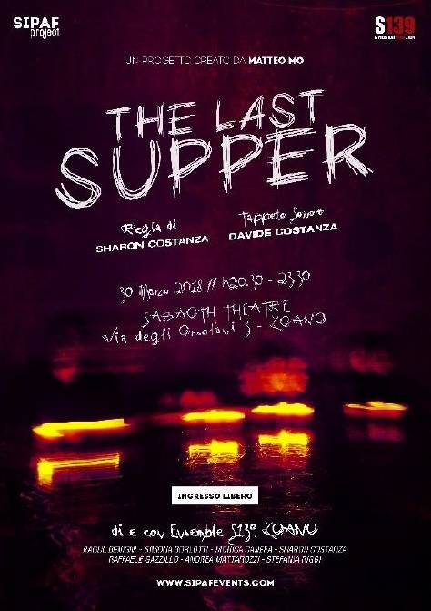 "Performance teatrale ""The Last Supper"""