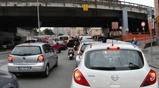 sopraelevata rampa traffico