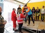 Maremontana Consegna Defibrillatore Croce Rossa Loano
