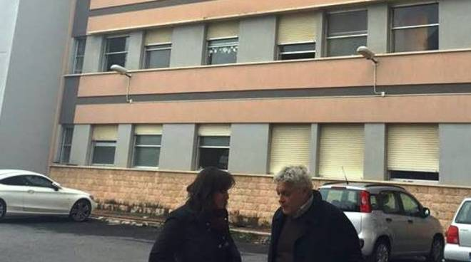 Incendio nella residenza protetta di Finale Ligure
