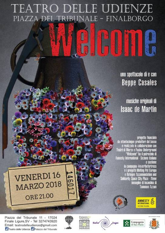 Welcome spettacolo teatrale