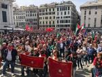 25 aprile, Bucci e Toti contestati