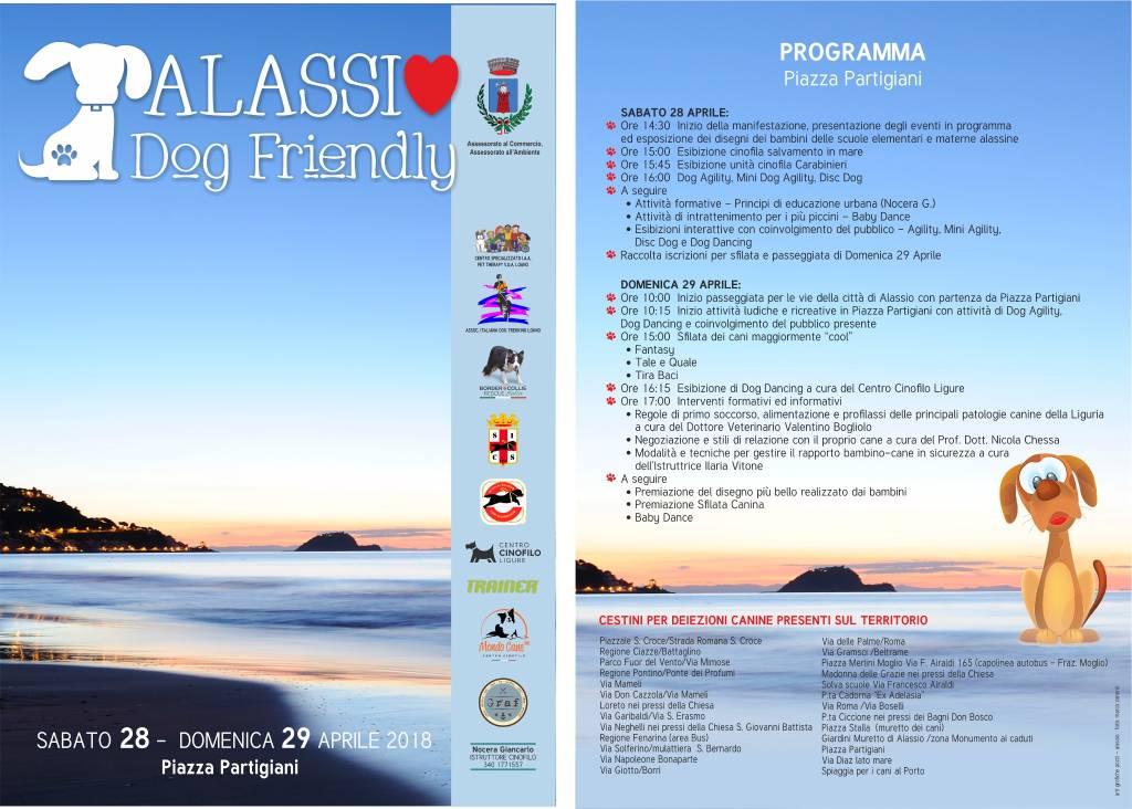 Alassio Dog Friendly 2018