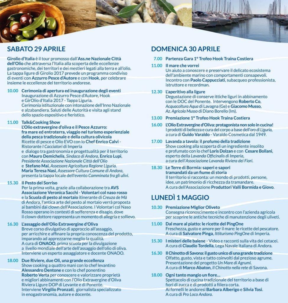 azzurro pesce d'autore 2018