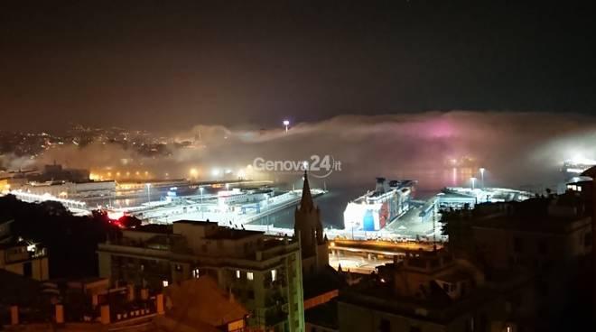 caligo nebbia