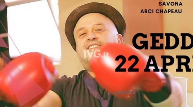 Stasera al Circolo ARCI Chapeau Famagosta: Geddo Live