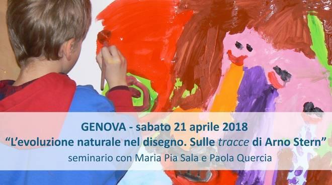 """Genova: seminario sul disegno infantile. \""""L?evoluzione naturale nel disegno. Sulle Tracce di Arno Stern\"""""""