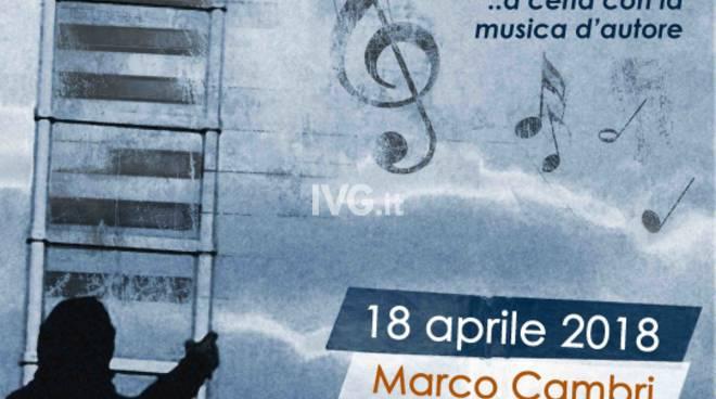 """18 aprile, ad Alassio alla Rassegna \""""MezzaLuna d\'Autore\"""" approda Marco Cambri con il disco """"Saera i euggi"""""""