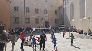 VTF: Una bella domenica di sole e di minivolley