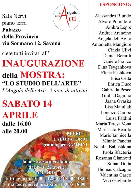 Mostra di pittura dell\'Angolo delle Arti: inaugurazione e laboratorio gratuito