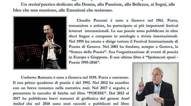 Reading poetico Passione Universale di Claudio Pozzani e Umberto Romano