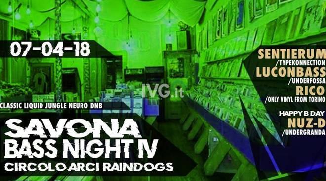 Domani sera ai Raindogs di Savona: SAVONA BASS NIGHT VOL. IV // SENTIERUM + LUCONBASS + RICO + NUZ-D