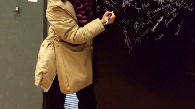 L\'artista di Moneglia Daniela Spaggiari espone a Marina di Massa