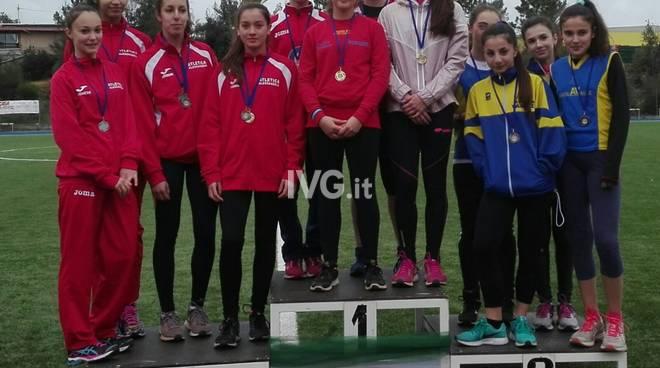 Atletica Run Finale - Pasquetta: nuovo record ligure per Anabel Vitale sulle 100 yard al Meeting di Primavera di Celle
