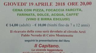 Domani sera alla SMS Cantagalletto serata di solidarietà, cultura ed antifascismo alla vigilia del 25 aprile