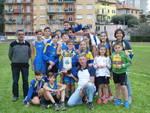"""L\'Atletica Varazze vince il trofeo  Carlo Antonino  Nicali nel 14° Meeting Giovanile \""""Città di Cogoleto\""""."""