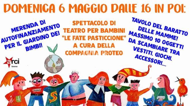 Domenica alla SMS Cantagalletto: Teatro per bimbi, Baratto delle mamme, Merenda autofinanziamento dell\'APS Vassilissa