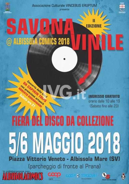 SAVONA-VINILE @ ALBISSOLA COMICS 2018