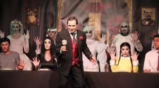 Cena a Casa Addams musical Nati da un Sogno