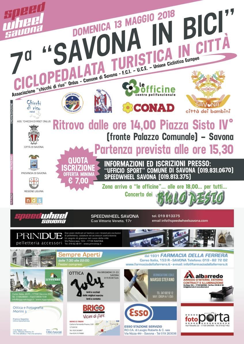 """Ciclopedalata Turistica """"Savona in Bici"""" 2018"""