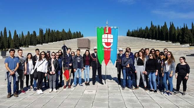 commemorazione redipuglia studenti liguri
