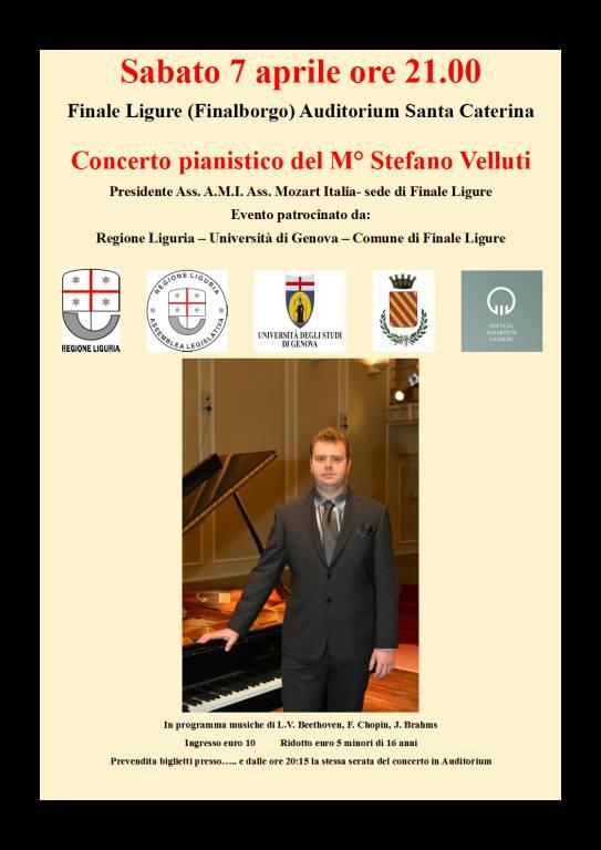 Concerto Pianistico Associazione Mozart Italia