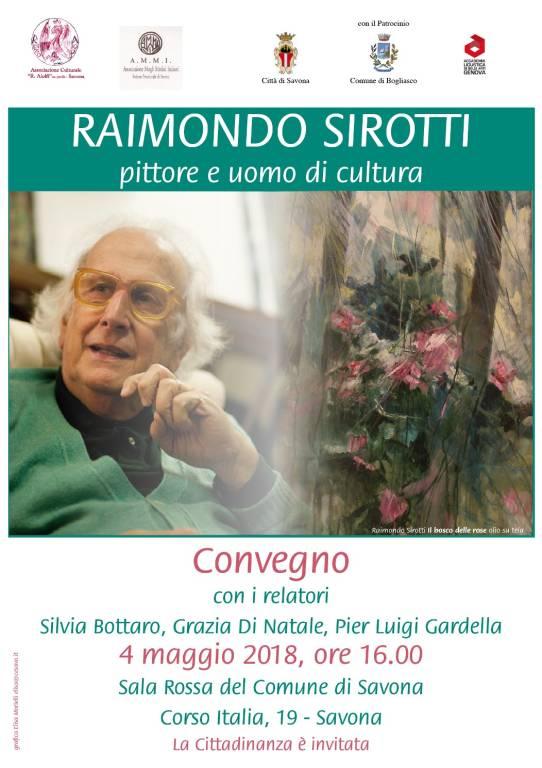"""Conferenza """"Raimondo Sirotti, pittore e uomo di cultura"""""""