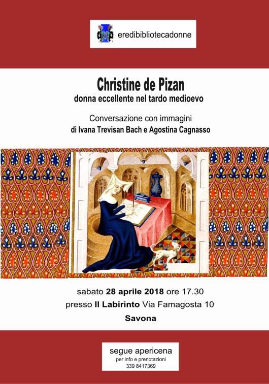 Conversazioni con immagini su Christine de Pizan