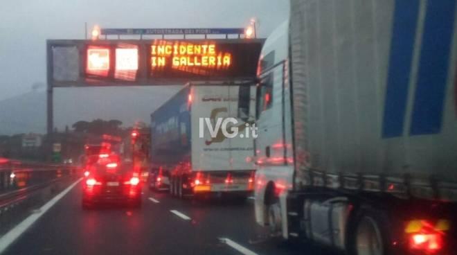 Incidente Autostrada Galleria
