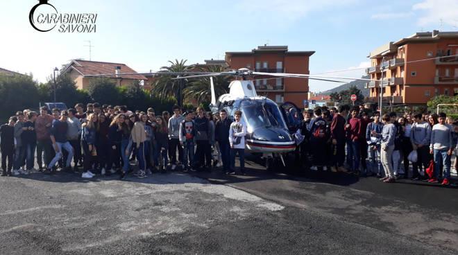 elicottero carabinieri loano