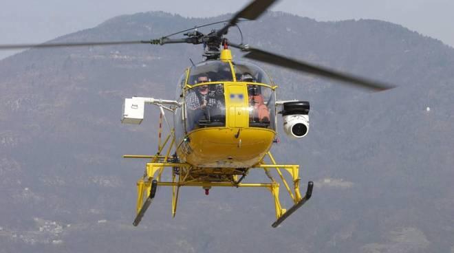 elicottero e-distribuzione