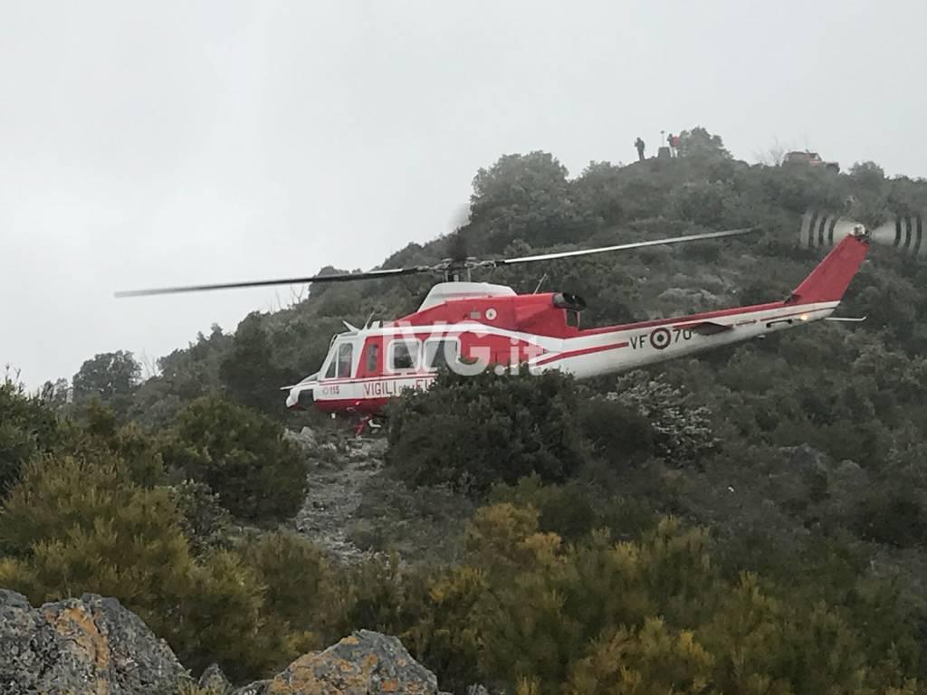 Escursionista accusa malore sul Monte Mao a Spotorno