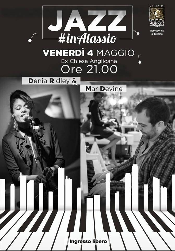Jazz #inAlassio concerto ex Chiesa Anglicana Alassio