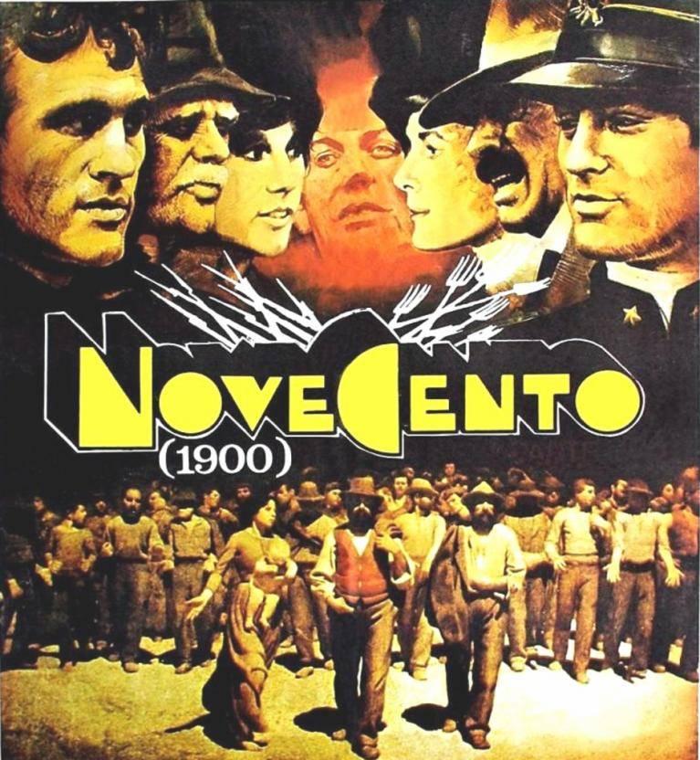 """Film """"Novecento"""" Bernardo Bertolucci"""