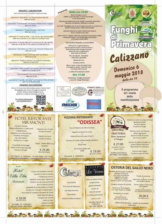 Funghi di Primavera a Calizzano