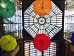 Galleria Mazzini, ombrelli e pioggia