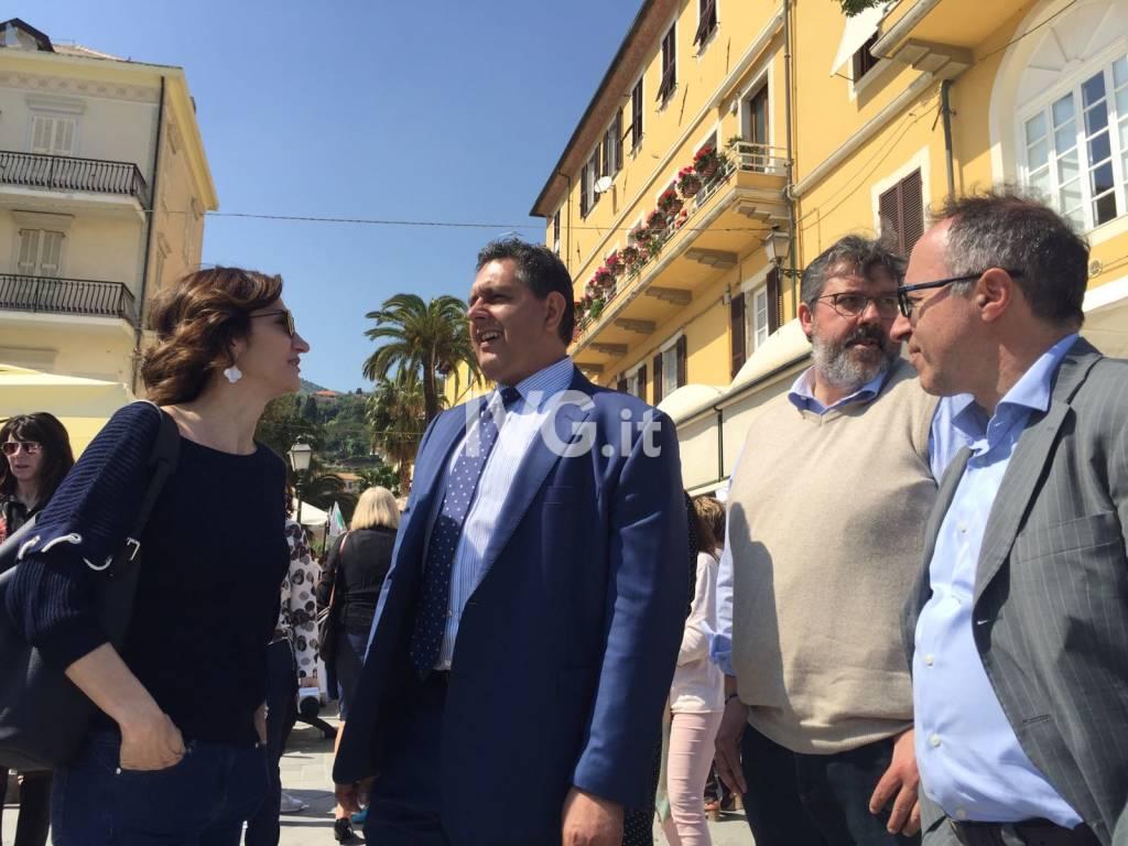 Gelmini e Toti ad Alassio per sostenere la candidatura di Enzo Canepa