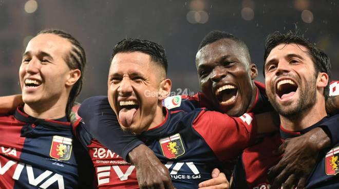 Genoa Vs Cagliari Serie A 27° Giornata
