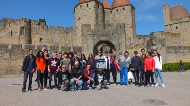 Giovani per la Scienza visita Tolosa
