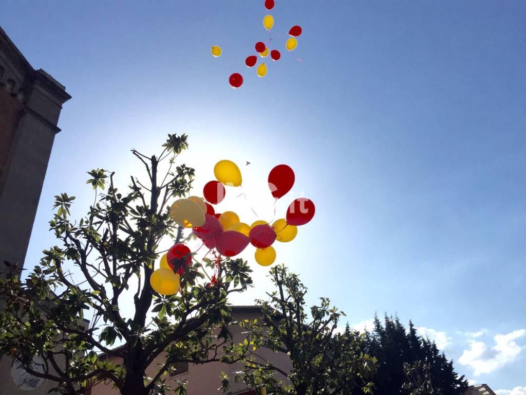 Il funerale di Davide Molinari