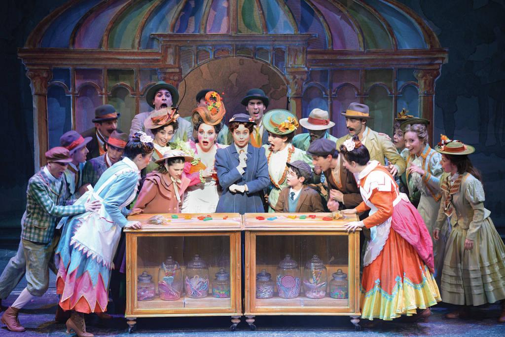Il savonese Davide Dal Seno nel cast di Mary Poppins