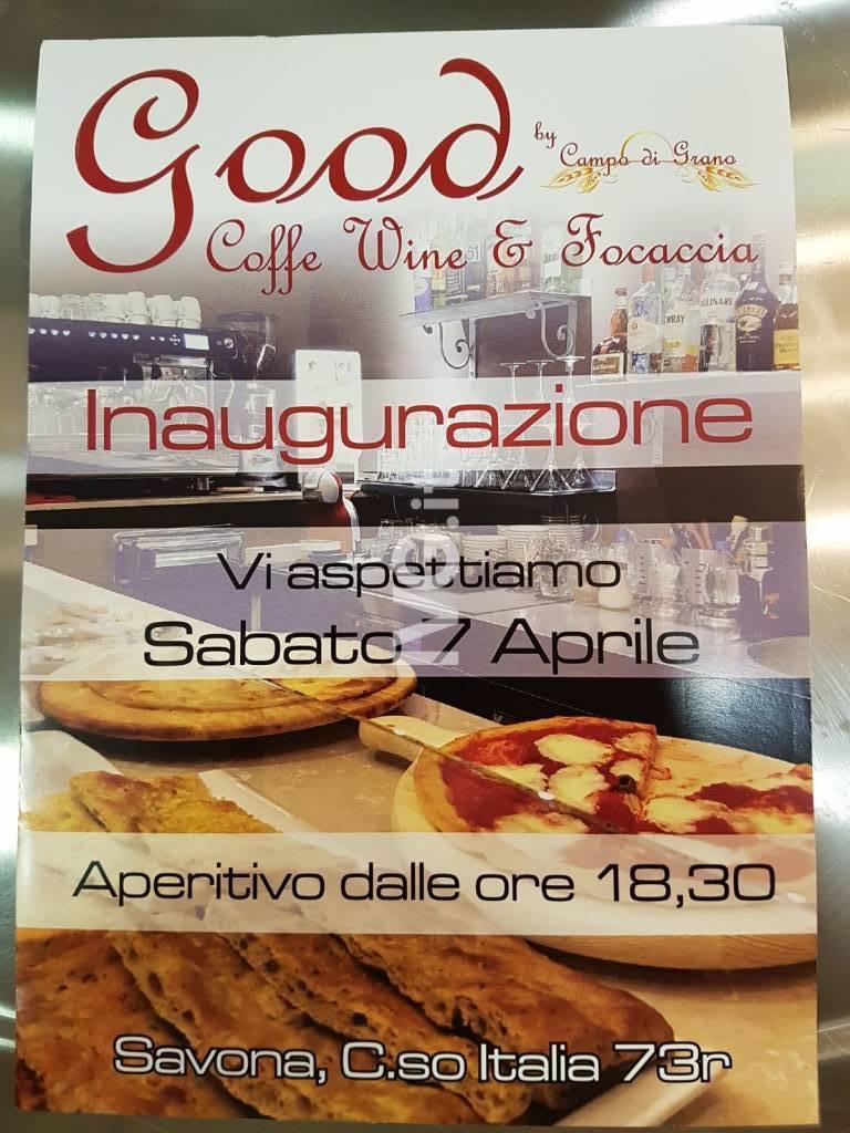 Inaugurazione Good by Campo di grano