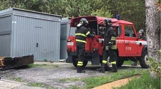 incendio appartamento vigili del fuoco vvff bragno ferrania