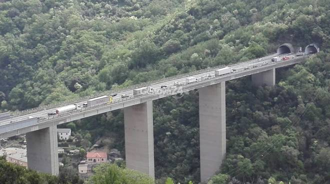 incidente autostrada viadotto