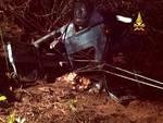 incidente lumarzo vigili del fuoco notte